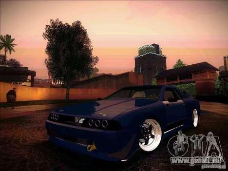 Elegy JDM Tuned für GTA San Andreas Rückansicht