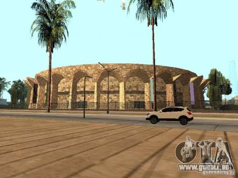 Ein neues Stadion in Los Santos für GTA San Andreas her Screenshot