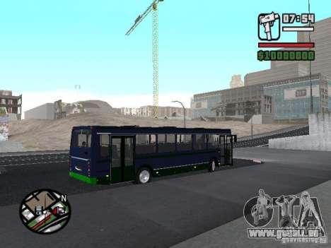 LIAZ 5256.25-II für GTA San Andreas rechten Ansicht