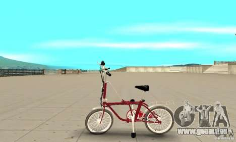 Child Bicycle für GTA San Andreas linke Ansicht