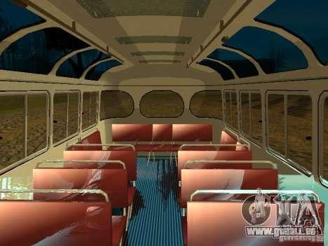GROOVE Version 672.60 pour GTA San Andreas vue intérieure