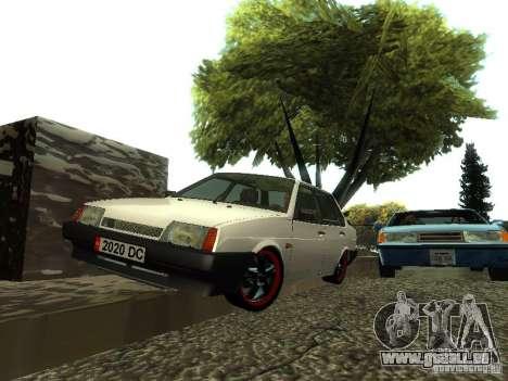 VAZ 21099 c. 2 pour GTA San Andreas vue de droite