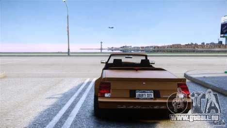 Sabre Convertible für GTA 4 hinten links Ansicht