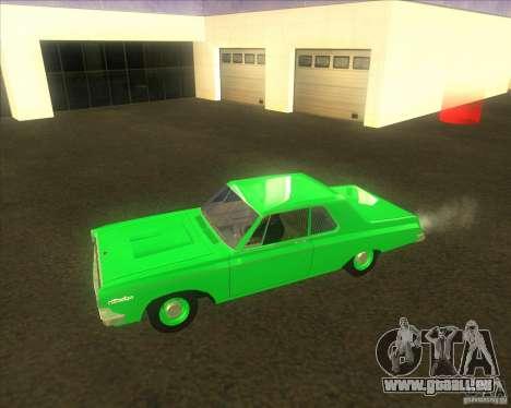 Dodge 330 1963 Max Wedge Ramcharger für GTA San Andreas zurück linke Ansicht