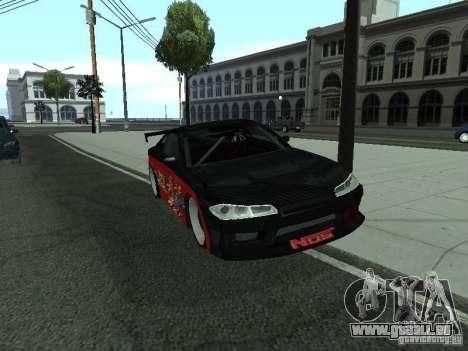 Nissan S15 vDragon pour GTA San Andreas vue de droite