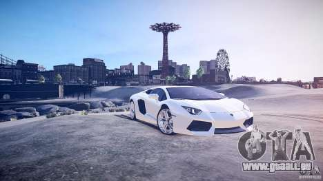 Lamborghini Aventador LP700-4 v1.0 für GTA 4 linke Ansicht