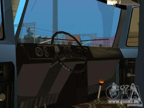 GAZ 3309 pour GTA San Andreas vue arrière