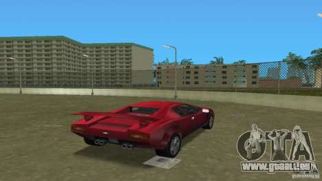 Infernus BETA für GTA Vice City linke Ansicht