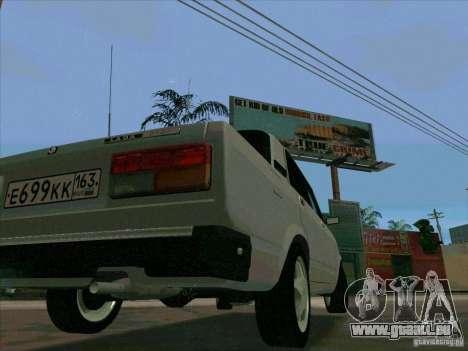 VAZ 2107 für GTA San Andreas Innenansicht
