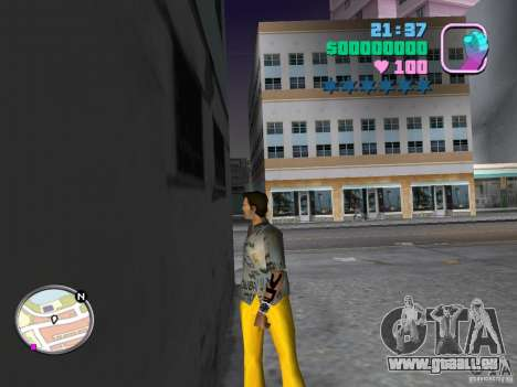 Nouveaux skins Pak GTA Vice City pour la deuxième capture d'écran