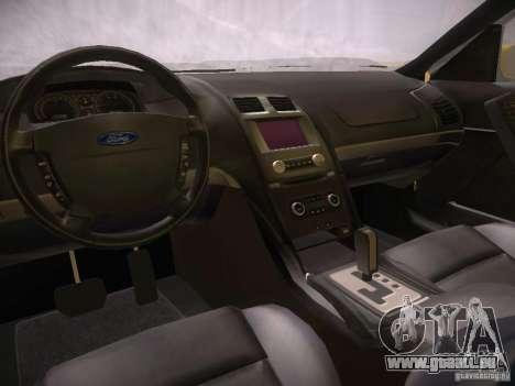 Ford Falcon für GTA San Andreas Innenansicht
