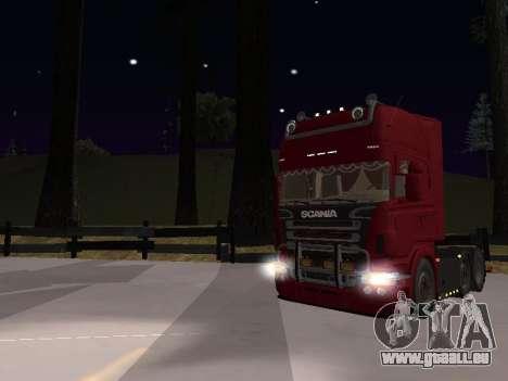 Scania 460 pour GTA San Andreas vue de côté