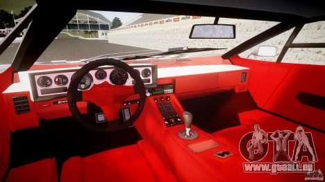 Lamborghini Countach pour GTA 4 Vue arrière