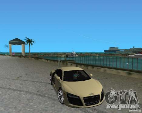 Audi R8 5.2 Fsi pour GTA Vice City