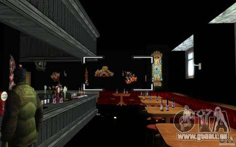 New Bar pour GTA San Andreas cinquième écran
