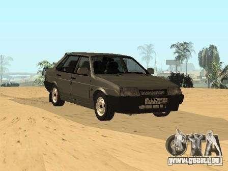 VAZ 21099 Sommer für GTA San Andreas