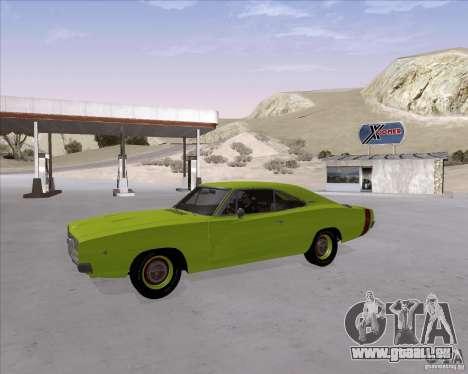 Dodge Charger RT 440 1968 pour GTA San Andreas vue intérieure