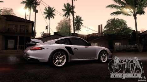 Porsche 911 GT2 RS 2012 pour GTA San Andreas vue intérieure