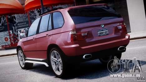 BMW X5 E53 v1.3 für GTA 4 Innen