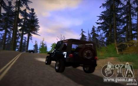 Mes paramètres ENB v2 pour GTA San Andreas neuvième écran