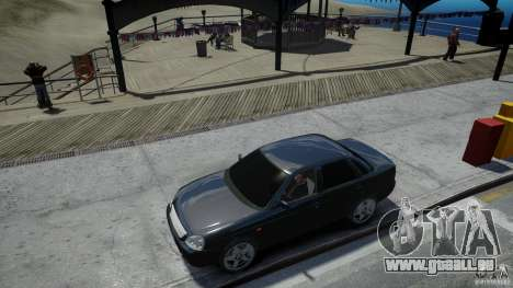 Lada Priora Light Tuning pour GTA 4 vue de dessus