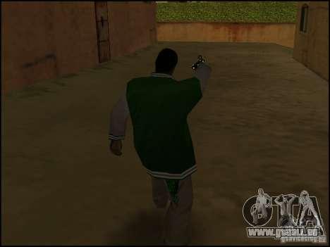 Waffe in einer hand für GTA San Andreas dritten Screenshot