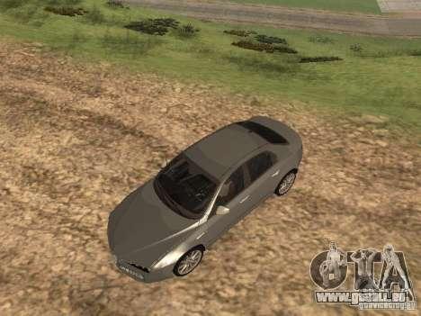 Alfa Romeo 159Ti für GTA San Andreas Seitenansicht