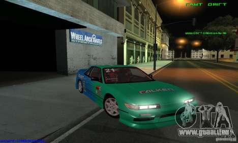 Nissan Silvia S13 Tunable pour GTA San Andreas vue de dessous