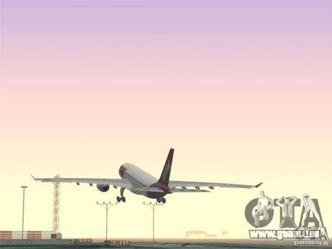 Airbus A330-223 TAM Airlines pour GTA San Andreas roue