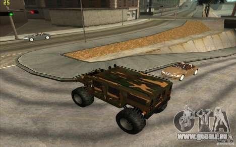 Hummer H1 Humster für GTA San Andreas linke Ansicht