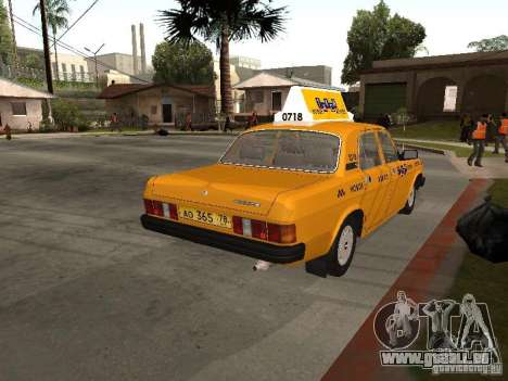 Volga GAZ 31029 Taxi für GTA San Andreas linke Ansicht