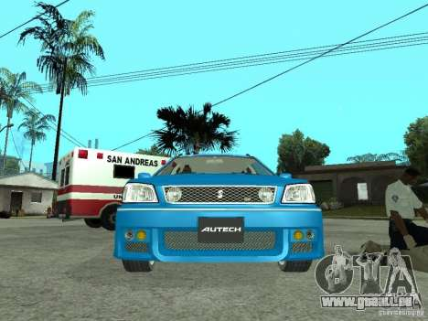 Nissan Stagea 25RS four S für GTA San Andreas rechten Ansicht