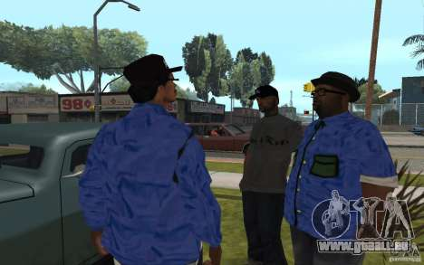 Crips 4 Life pour GTA San Andreas