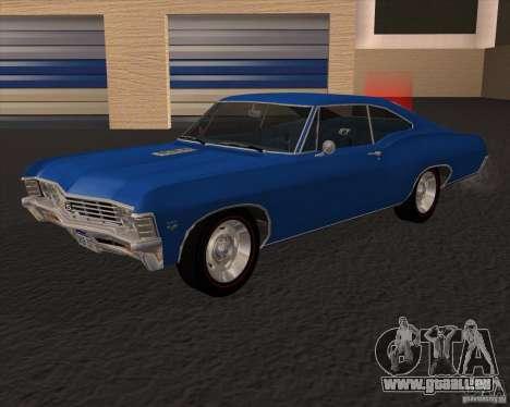 Chevrolet Impala 427 SS 1967 pour GTA San Andreas