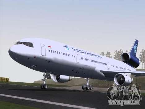 McDonnell Douglas MD-11 Garuda Indonesia pour GTA San Andreas vue intérieure