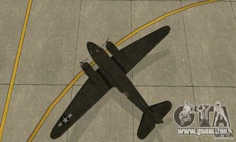 C-47 Skytrain pour GTA San Andreas vue arrière