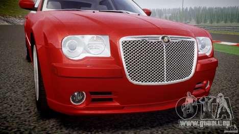 Chrysler 300C 2005 pour GTA 4 vue de dessus