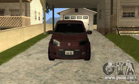 Fiat Novo Uno Sporting für GTA San Andreas linke Ansicht