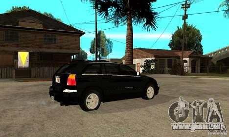 Chrysler Pacifica pour GTA San Andreas vue de droite