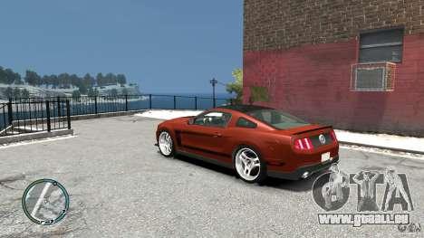 Ford Mustang Boss 302 2012 für GTA 4 hinten links Ansicht