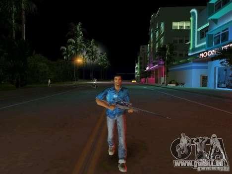 Modèle Tommy Vercetti bêta pour le quatrième écran GTA Vice City