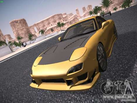 Mazda RX-7 FD3S C-West Custom pour GTA San Andreas