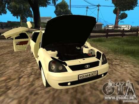 LADA Priora 2170 Limousine für GTA San Andreas Seitenansicht