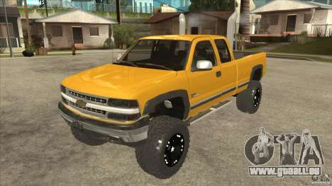 Chevrolet Silverado 2500 Lifted pour GTA San Andreas