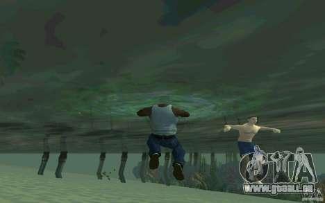 Menschen sind in der Lage zu schwimmen für GTA San Andreas fünften Screenshot