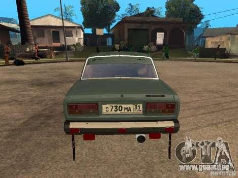 ВАЗ 21074 für GTA San Andreas rechten Ansicht