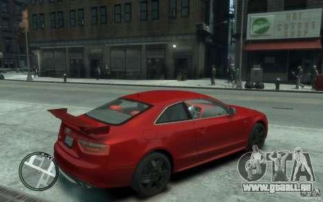 Audi S5 v2 pour GTA 4 est un droit