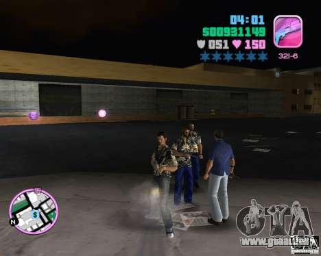 Vercetti Gang Verschleiß für GTA Vice City Screenshot her