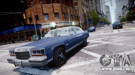 Cadillac Fleetwood Brougham 1985 pour GTA 4 Vue arrière