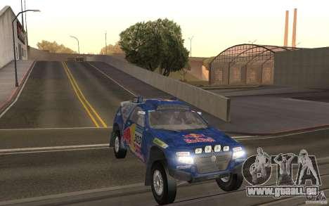 Volkswagen Race Touareg für GTA San Andreas Rückansicht